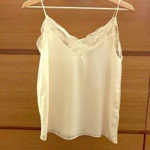 Brand new cream Zara Camisole